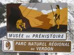 Panneau Musee Prehistoire